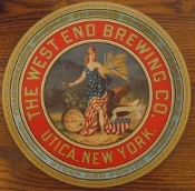 The West End Brewing Company Tray