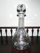 Cedar Creek Back Bar Bottle Decanter
