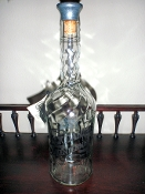 Jack Daniels Bicentennial Whiskey Back Bar Bottle