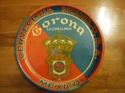Corona Cerveceria Modelo, S.A. Mexico Beer Serving Tray