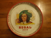 Regal Beer Serving Tray New Orleans - Miami