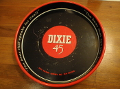 Dixie 45 Beer Serving Tray