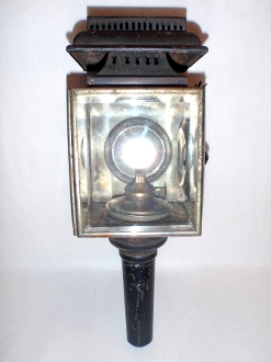 Carriage Buggy Coach Early Automobile Lantern Lamp