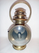 Gray and Davis Early Automobile Carriage Brass Lantern Lamp