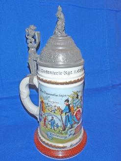 German Regimental Infantry Stein