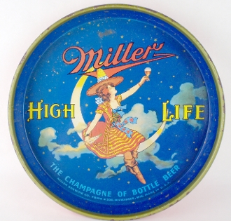 Miller High Life Vintage Beer Serving Tray