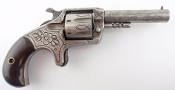 J. Rupertus Empire .22 Caliber Engraved Revolver