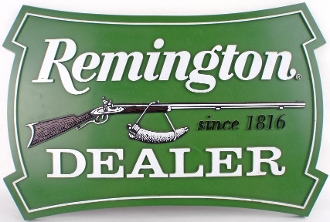 Remington Authorized Dealer Sign