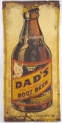 Dad's Old Fashioned Root Beer Sign