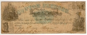 1 Dollar State OF Mississippi One Confederate Civil War Note