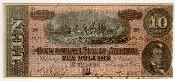 10 Dollar Confederate States of America Bank of Richmond 1864