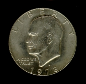1978 D Eisenhower IKE Dollar Coin
