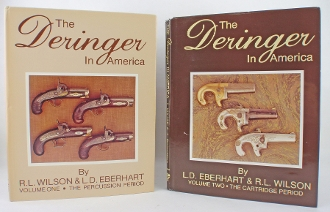 The Deringer in America Volume 1 and 2 Two Volume Set