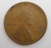 1909 Lincoln Wheat One Cent Penny