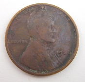 1926 Lincoln Wheat One Cent Penny