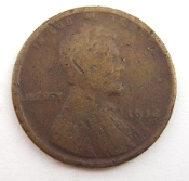 1918(?) Lincoln Wheat One Cent Penny
