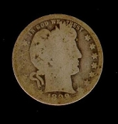25 Cent 1899-O Barber Silver Quarter