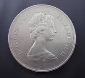British Elizabeth II and Philip 1947-1972 Commemorative Coin
