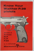 Know Your Walther P.38 Pistols Models Armee, MP, HP, and P.38