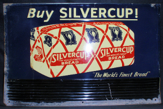 Silvercup The Wolds Finest Bread Tin Sign