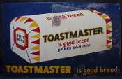 Toastmaster is Good Bread Baked by Nickles Tin Sign