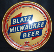 Blatz Milwaukee Beer Tray Established 1851