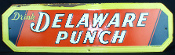 Delaware Punch Advertising Tin Sign Drink Delaware Punch