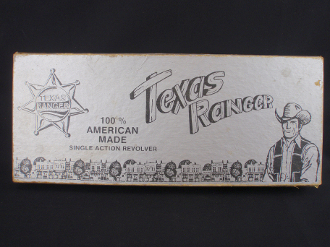 Texas Ranger Tex-22 .22 Single Action Revolver 2-Piece Box