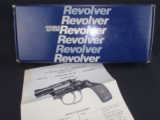 "Smith & Wesson 37  2"" Factory Revolver Box instruction Sheet"