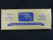 Smith & Wesson Military & Police .38 Gold Picture 2-Piece Box
