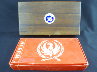 Ruger Colorado Centennial Single Six Commemorative Display Case