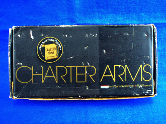 Charter Arms Off-Duty Cardboard Box