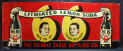Lithiated Lemon Soda 66 Peps You Up Clears Your Head Sign