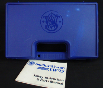 Smith & Wesson SW99 Old Style Pistol Gun Case Box & Manual