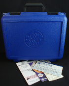 Smith & Wesson 460 or 500 Hard Plastic Revolver Case & Manual