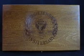 Ruger Security-Six Ohio State Police Golden Anniversary Wood Box