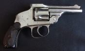 Hopkins & Allen Top Break Hammerless Antique Revolver
