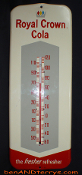 Royal Crown Cola RC 1961 Thermometer Sign