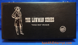 Colt Lawman Series Wild Bill Hickok Single Action Display Case