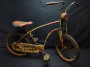 MOBO Tot Cycle Vintage Childs 1950's Bicycle