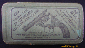.32 S&W UMC 2-piece 1880s ammo cartridge half split picture box