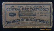 .41 LC D.A. CF UMC two piece half split cartridge ammo box