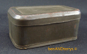 .22 Green Metal Hinged Ammo Box